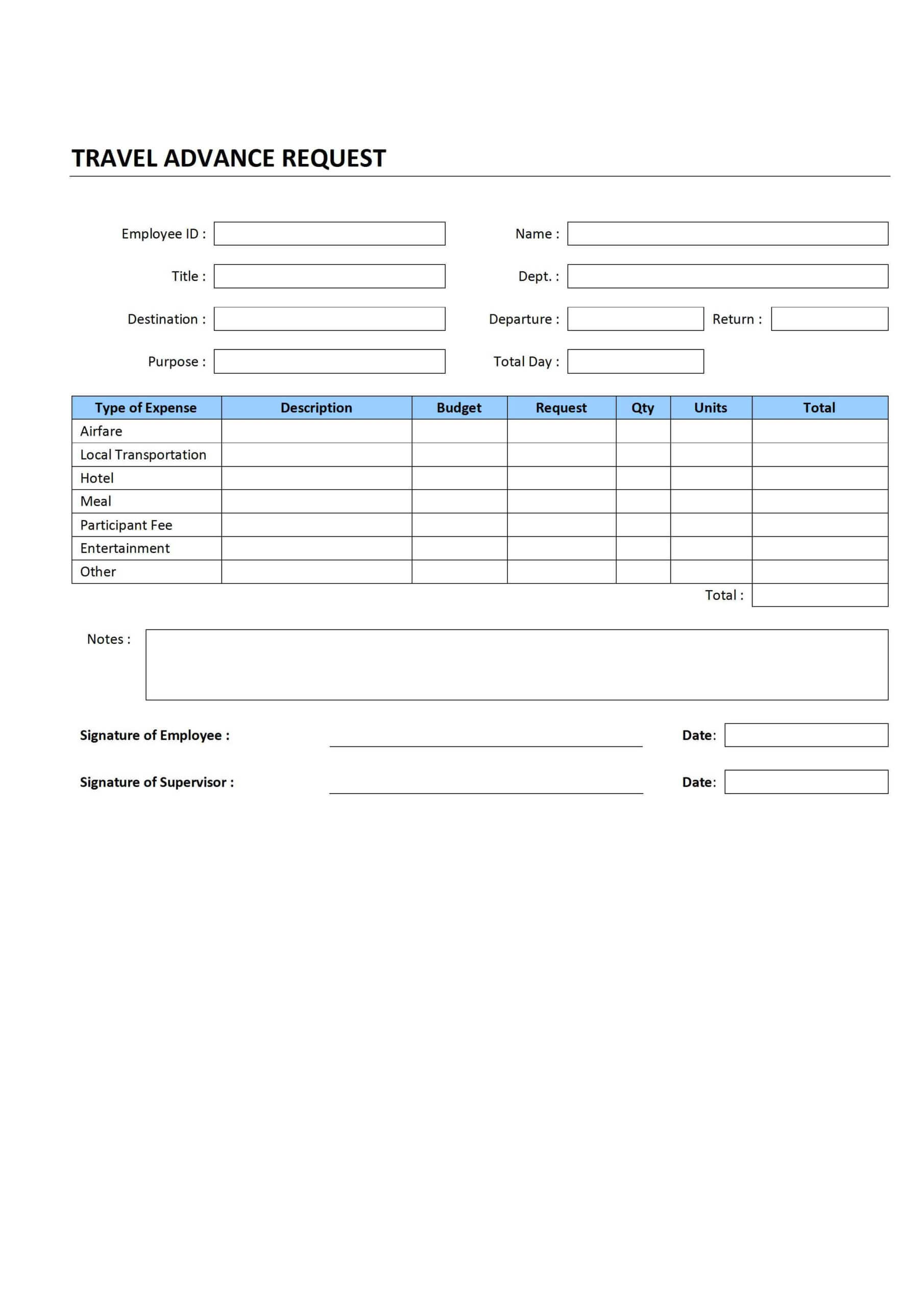 5 Best Photos Of Sample Travel Request Form - Travel Request Inside Travel Request Form Template Word