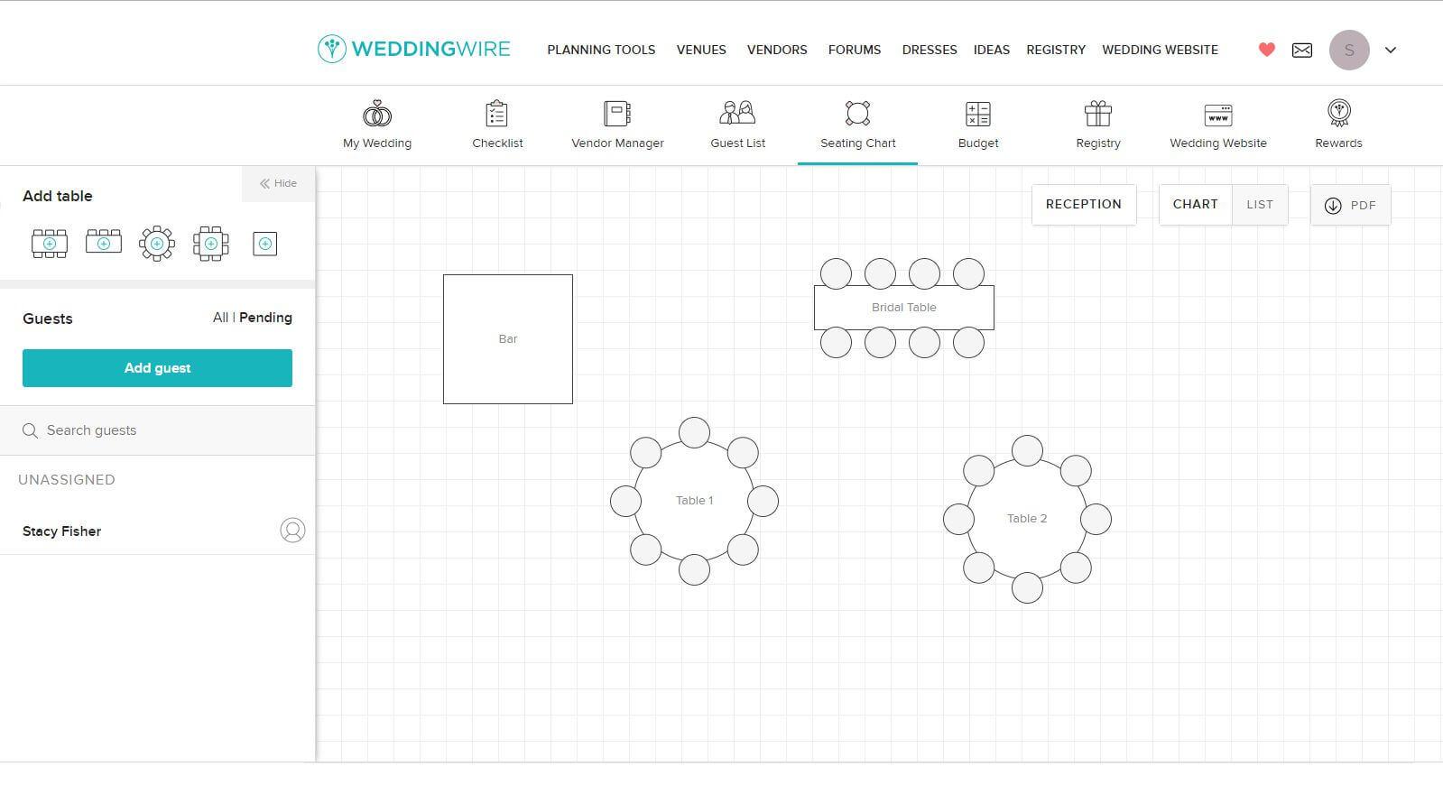 5 Free Wedding Seating Chart Templates Throughout Wedding Seating Chart Template Word