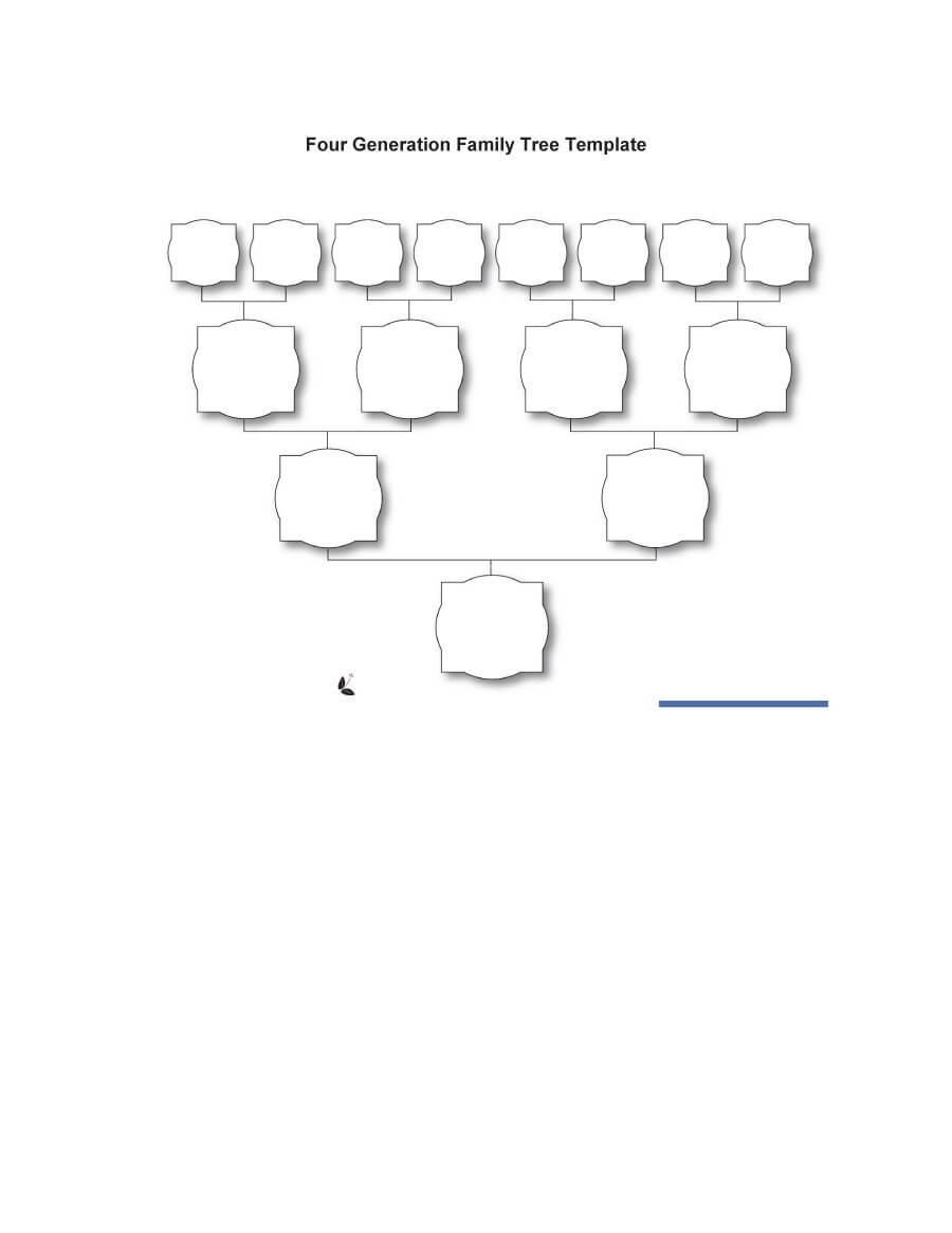 50+ Free Family Tree Templates (Word, Excel, Pdf) ᐅ For 3 Generation Family Tree Template Word