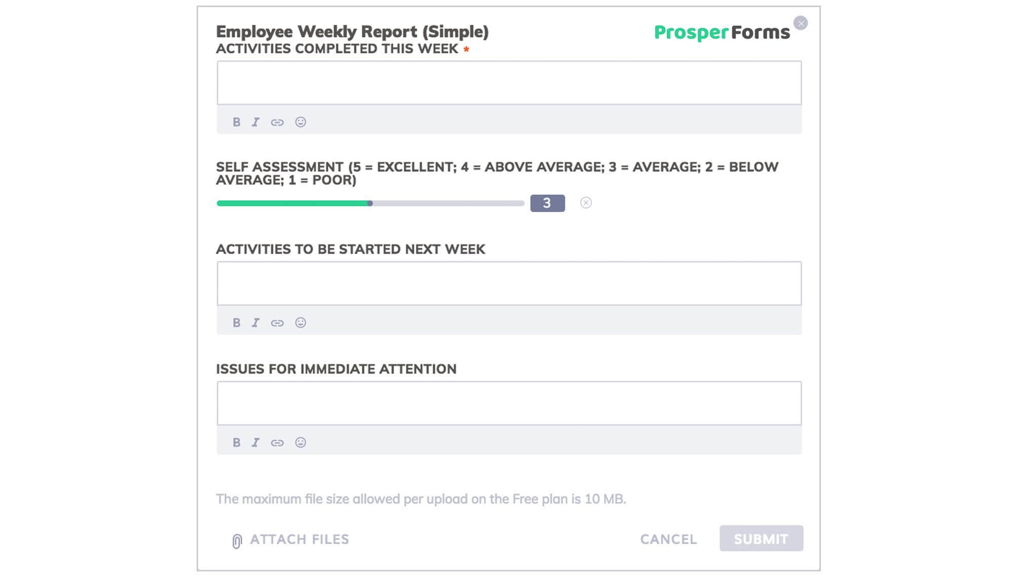 6 Awesome Weekly Status Report Templates | Free Download Intended For Development Status Report Template
