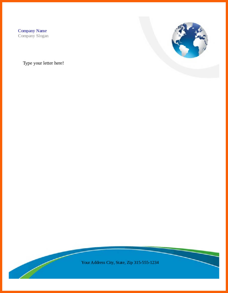 7+ Free Download Letterhead Word Format | Ml Datos Intended For Word Stationery Template Free