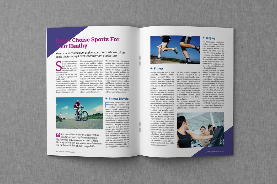 8+ Microsoft Word Magazine Templates – Word Pdf In Magazine Template For Microsoft Word