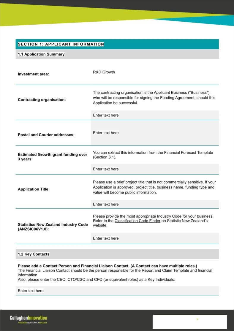 9+ Funding Application Form Templates – Free Pdf, Doc Format In Funding Report Template