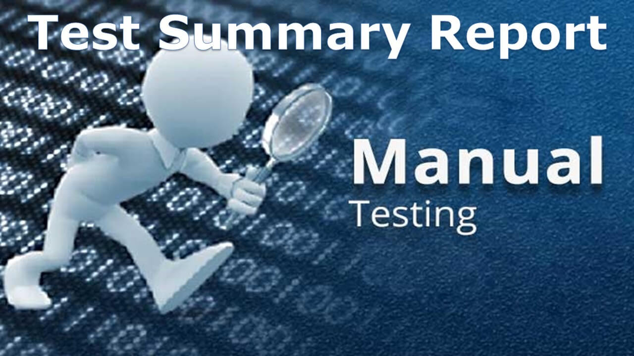 A Sample Test Summary Report - Software Testing Throughout Test Closure Report Template