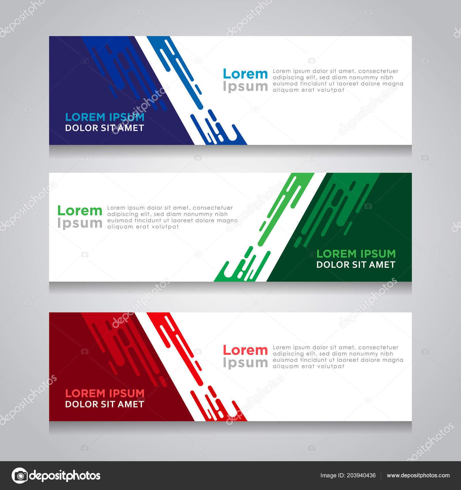 Abstract Web Banner Design Background Header Templates Inside Website Banner Design Templates