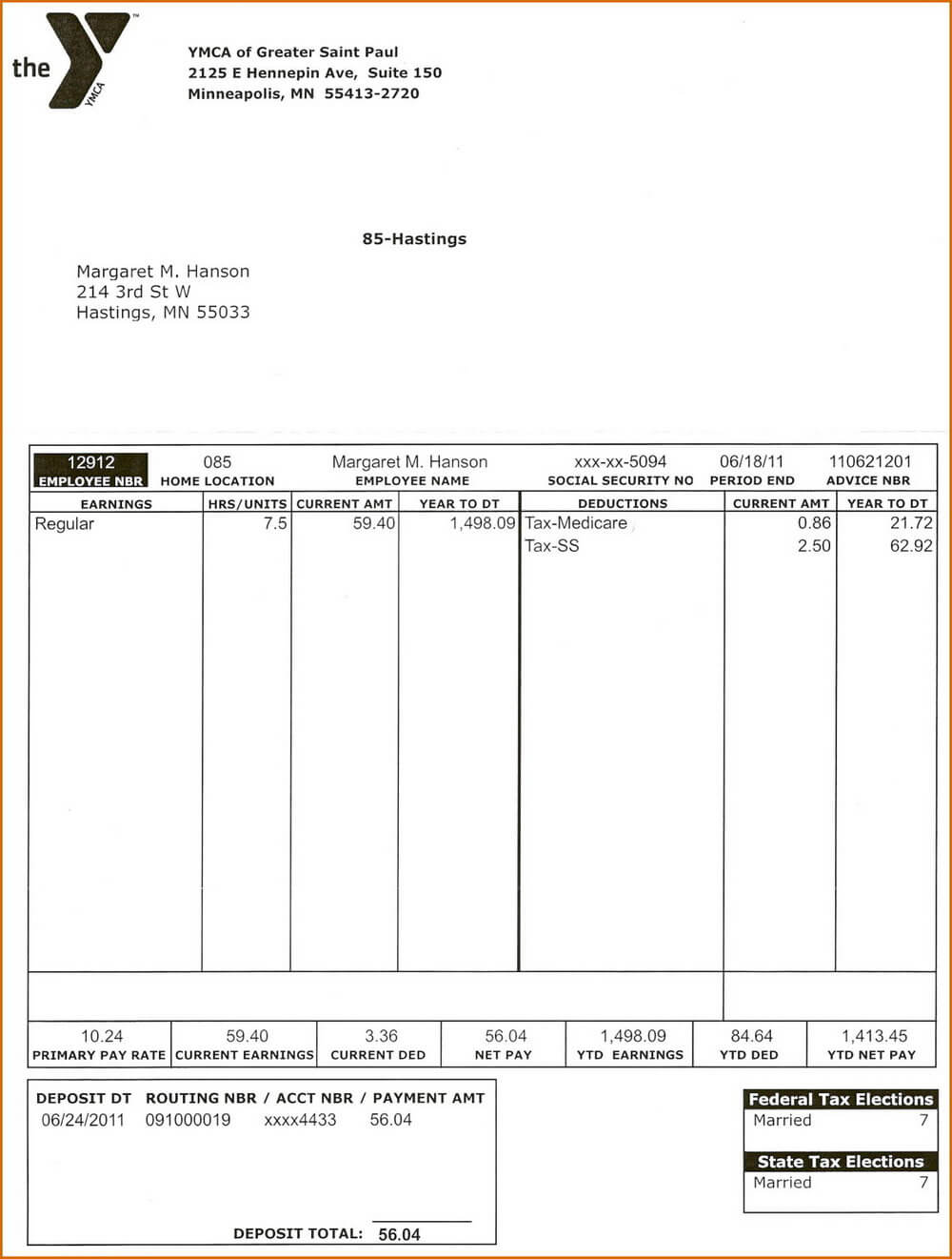 Adp Pay Stub Templates – Templates #37469   Resume Examples For Blank Pay Stub Template Word