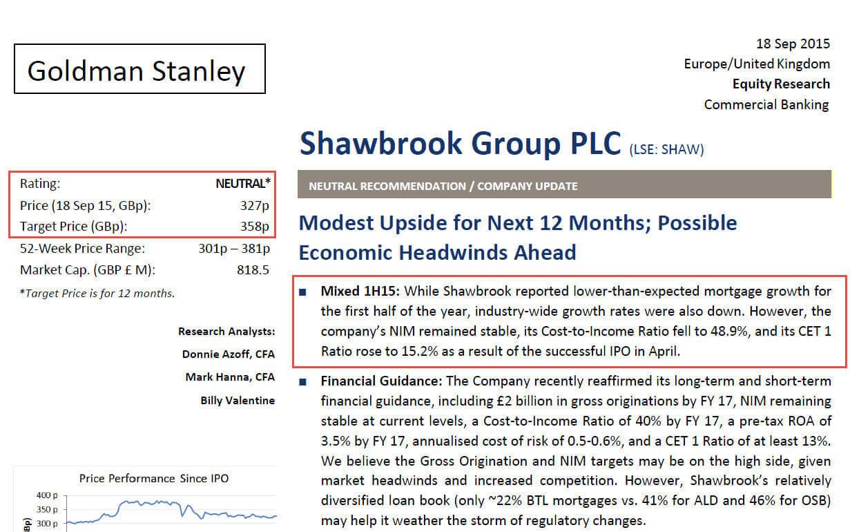 Analyst Report Template - Tunu.redmini.co In Stock Analysis Report Template