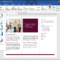 Apply A Theme In Word  Instructions And Video Lesson Throughout How To Use Templates In Word 2010