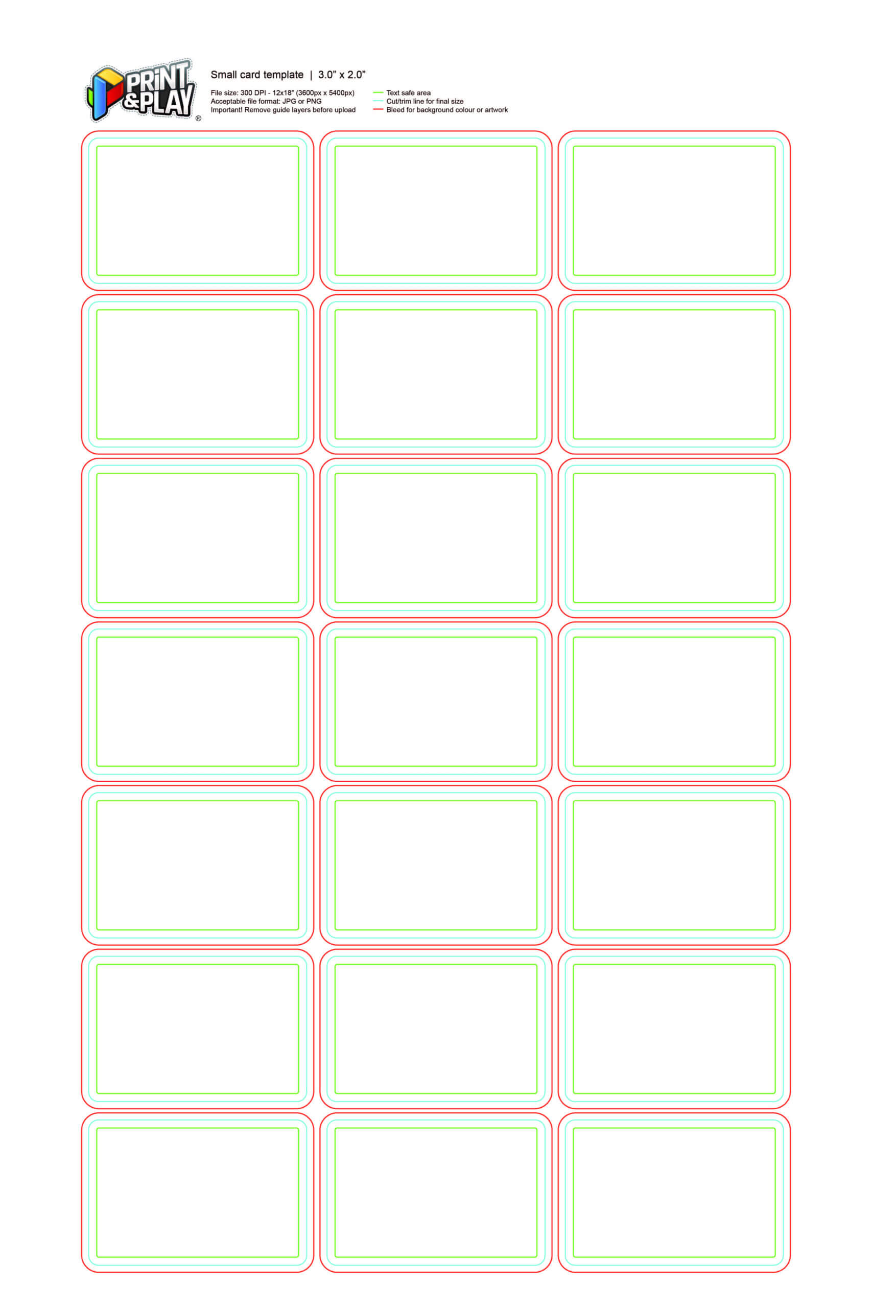 Astounding Playing Card Size Template Ideas Poker Standard Pertaining To Playing Card Template Word