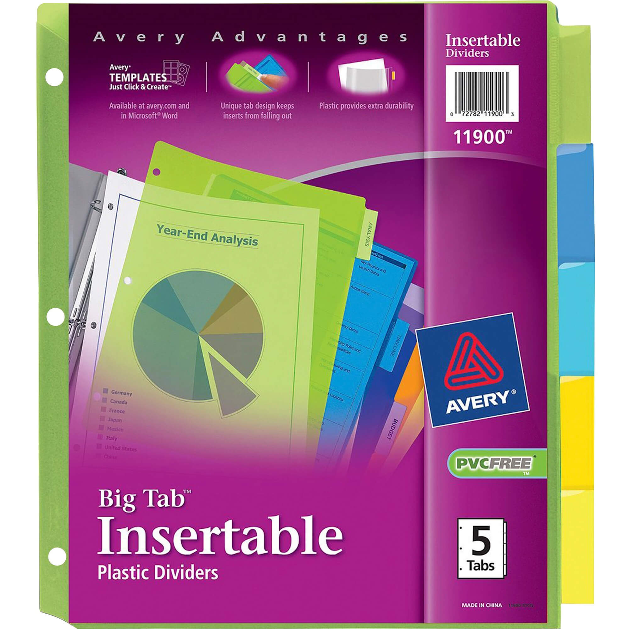 Ave11900 Throughout 8 Tab Divider Template Word