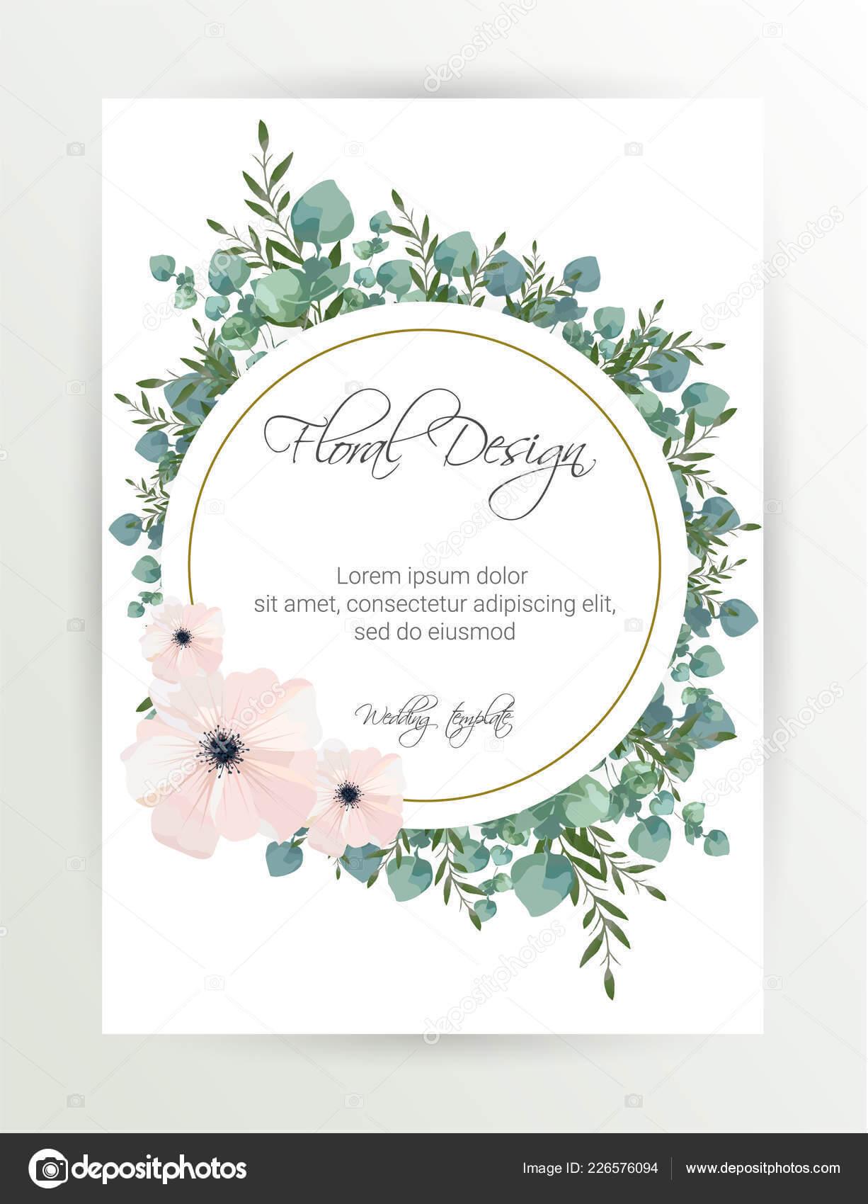 Banner Flower Background Wedding Invitation Modern Card Throughout Wedding Banner Design Templates