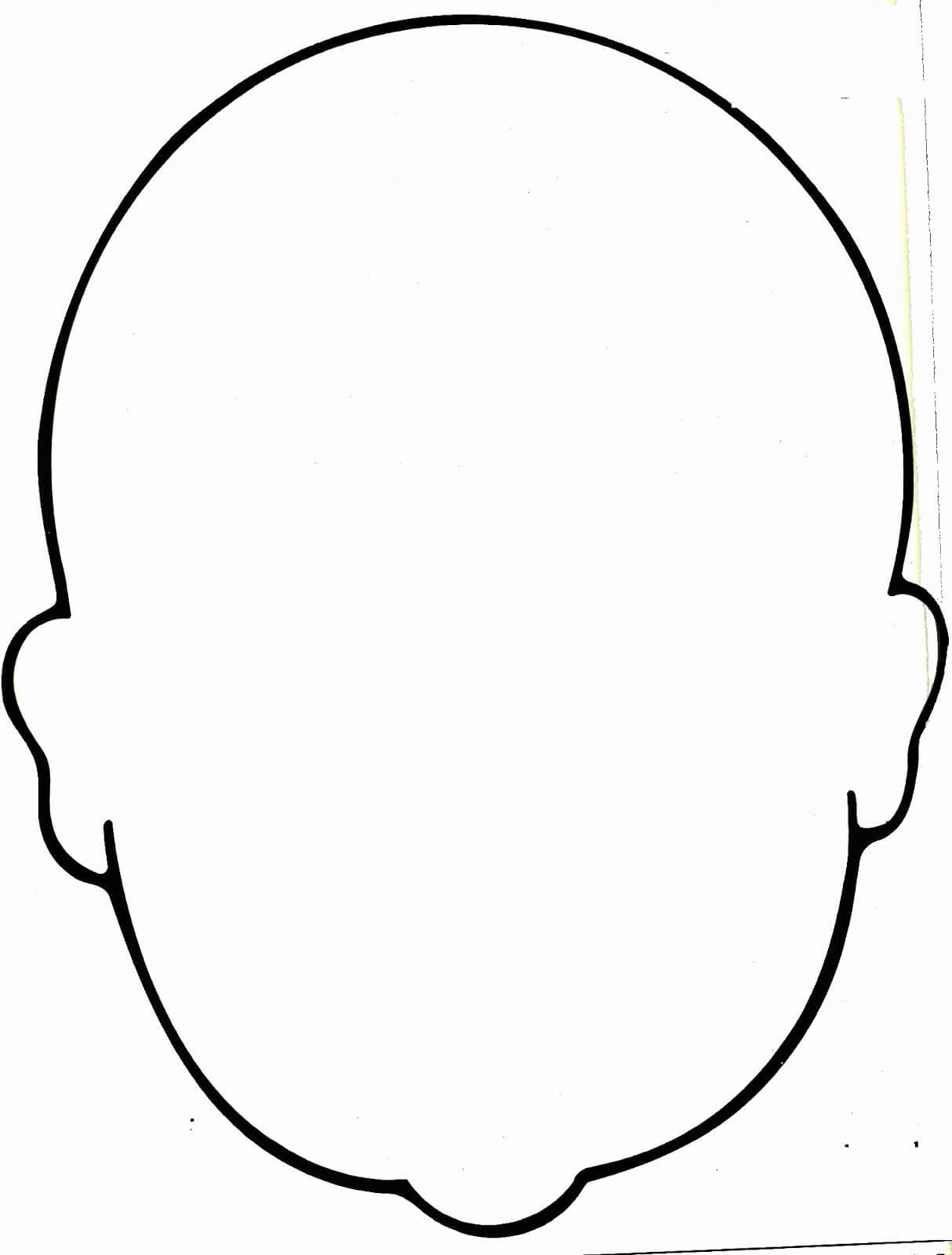Blank Face Coloring Page Lovely Image Result For Blank Faces Regarding Blank Face Template Preschool