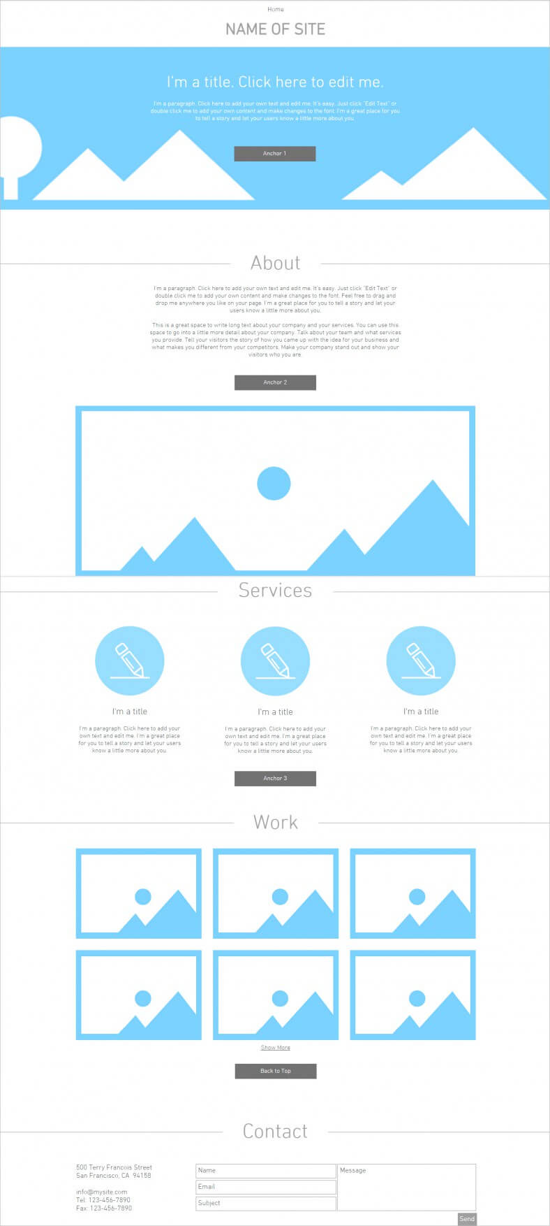 Blank Html5 Website Templates & Themes   Free & Premium With Regard To Html5 Blank Page Template