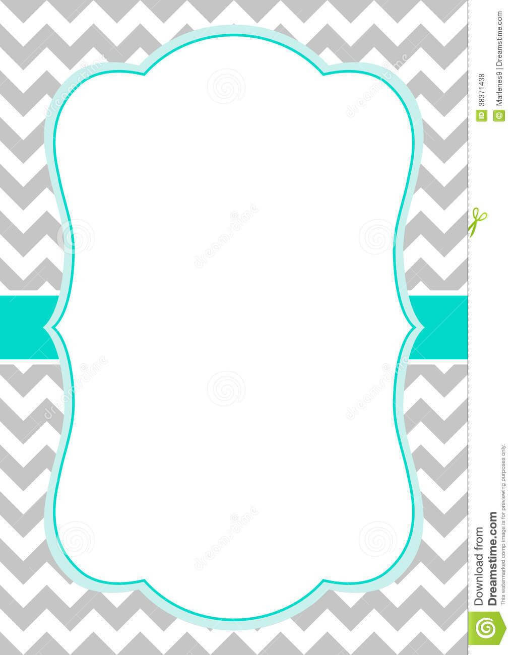 Blank Invitation Templates Free For Word : Blank Party Regarding Blank Templates For Invitations