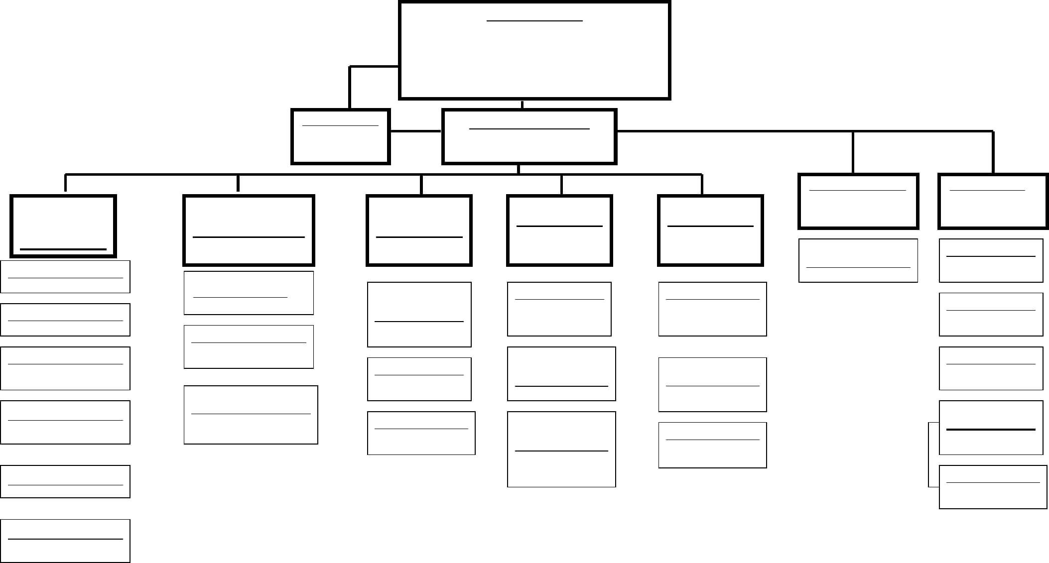 Blank Organizational Chart – Cumberland College Free Download Throughout Free Blank Organizational Chart Template