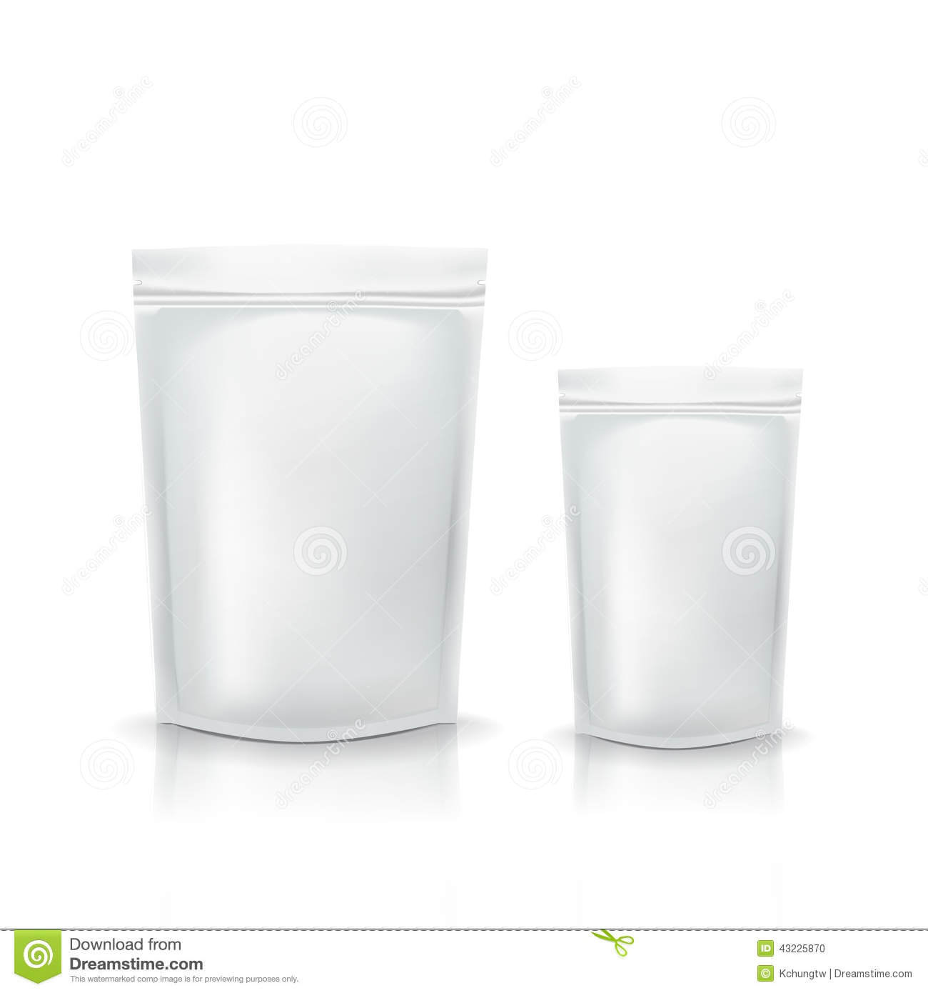 Blank Packaging Template Stock Vector. Illustration Of Ready Throughout Blank Packaging Templates