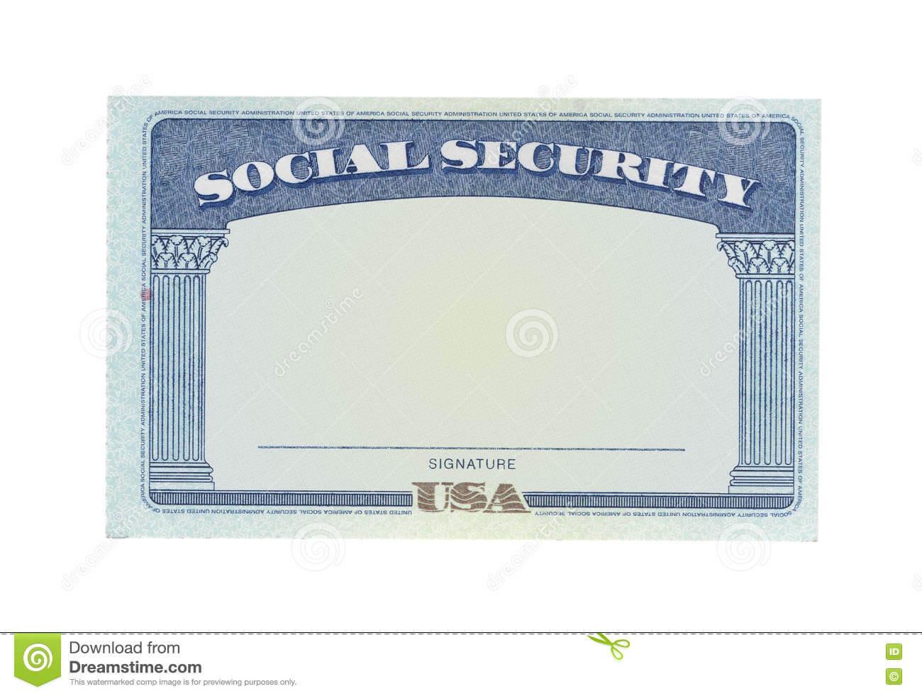 Blank Social Security Card Stock Photos - Download 127 Throughout Blank Social Security Card Template Download