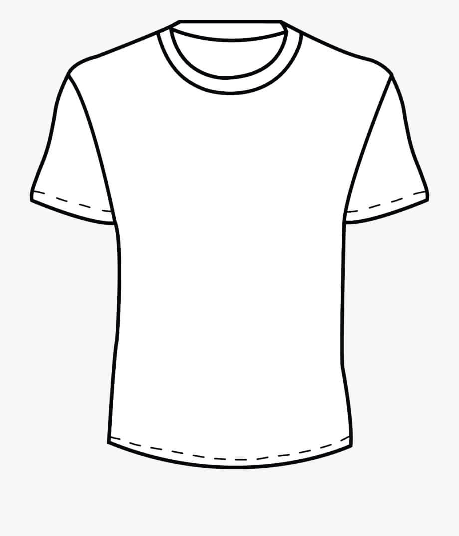 Blank Tshirt Template Png – Mens T Shirt Outline Pertaining To Blank T Shirt Outline Template