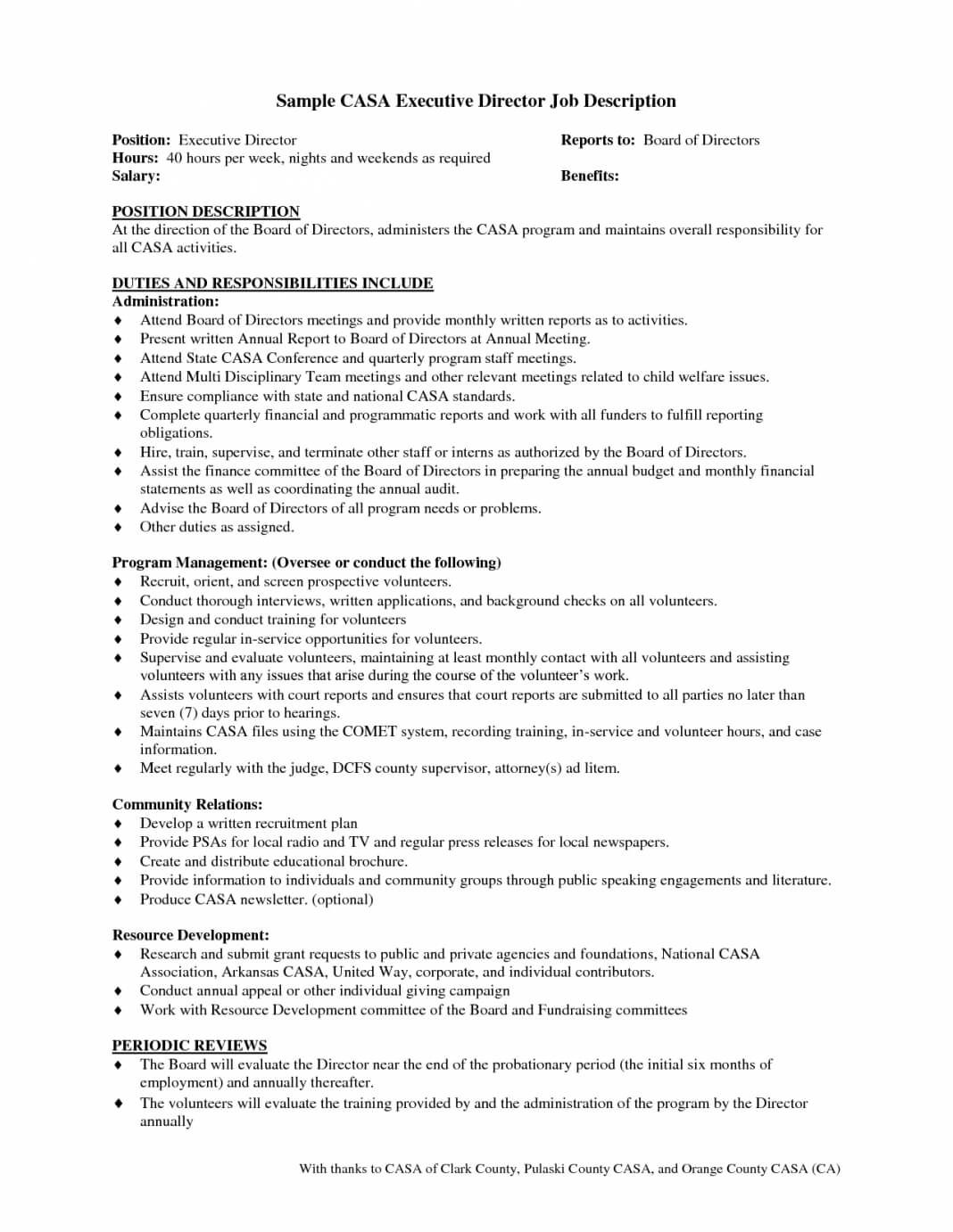 Board Report E Clerical Associate Job Description Reporting Within Health And Safety Board Report Template