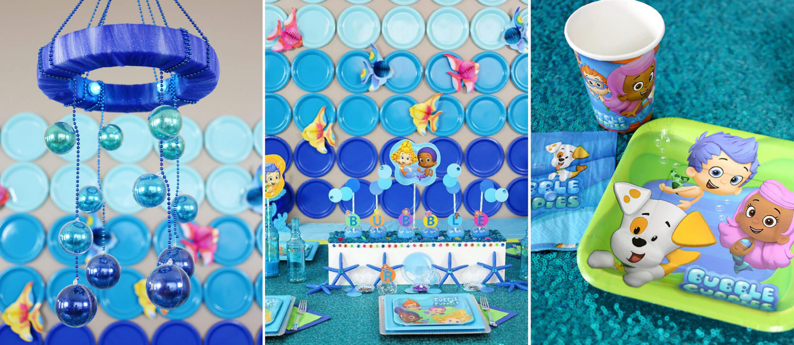 Bubble Guppies™ Diy Party Ideas   Fun365 Intended For Bubble Guppies Birthday Banner Template