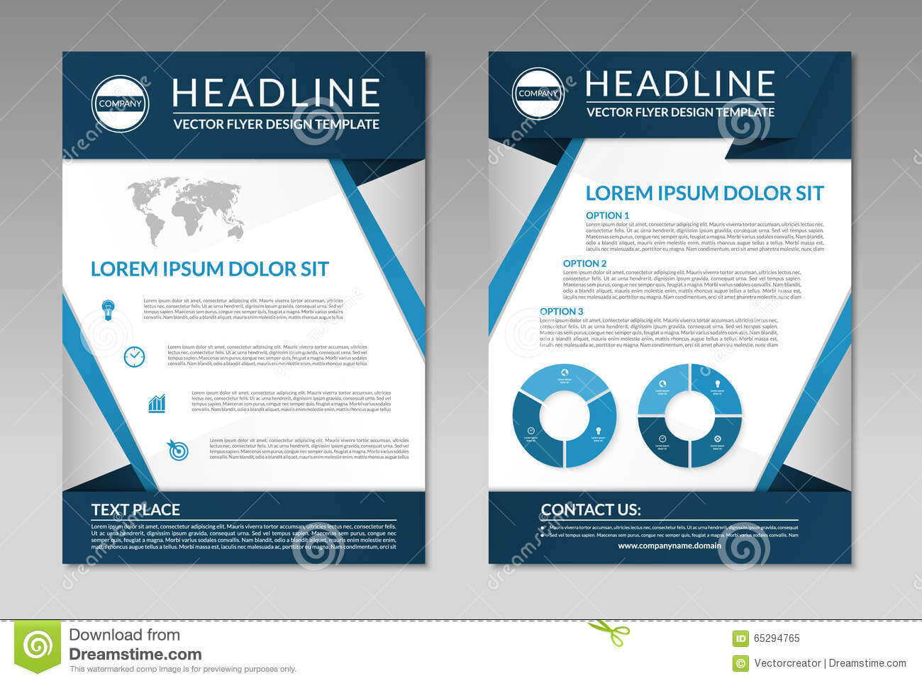 Business Brochure Flyer Design Template. A4 Size Stock Pertaining To Free Business Flyer Templates For Microsoft Word