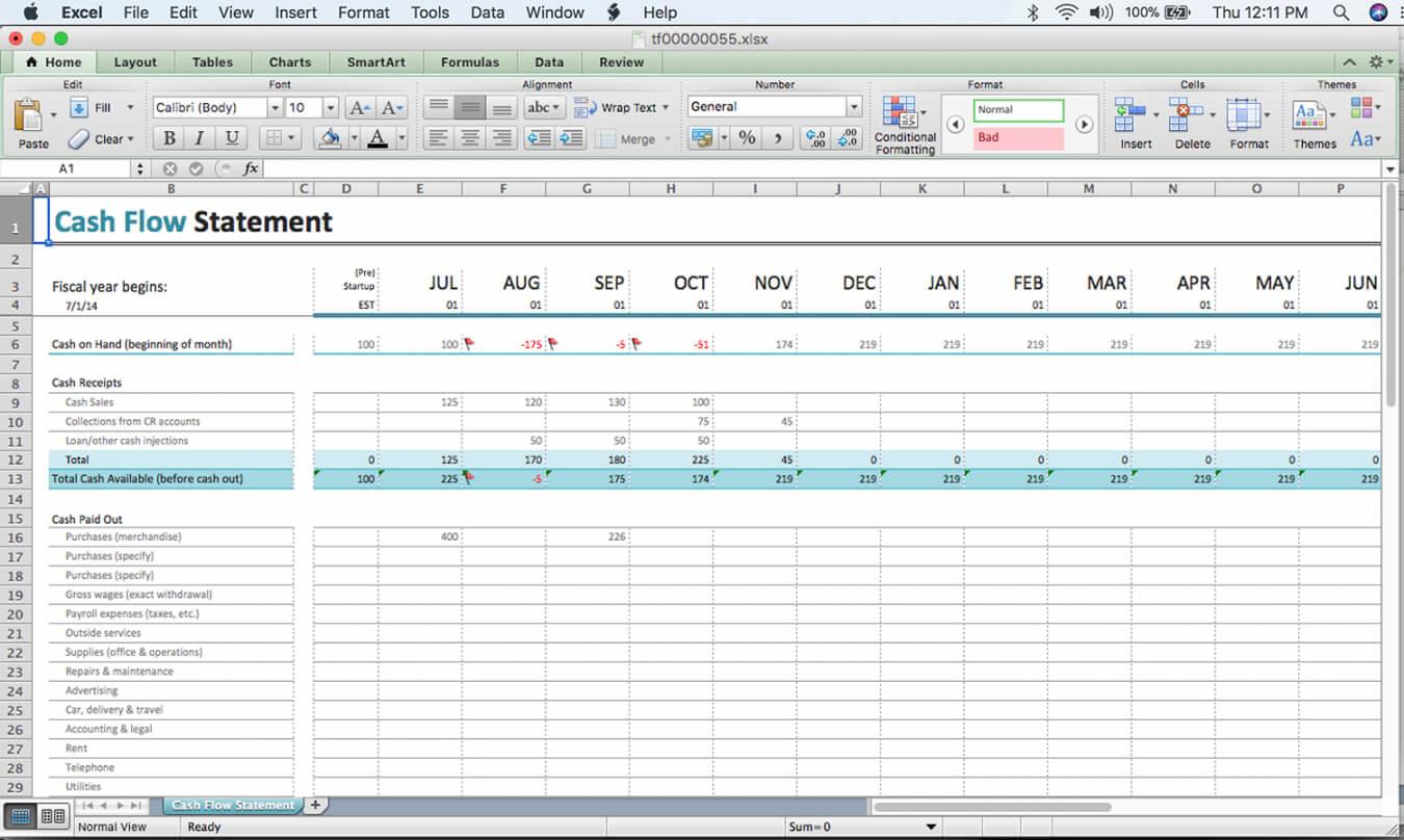 Cash Position Report Template Throughout Cash Position Report Template