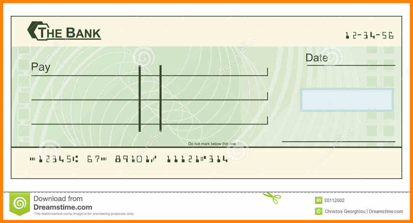 Check Clipart Cheque, Check Cheque Transparent Free For Regarding Blank Cheque Template Uk