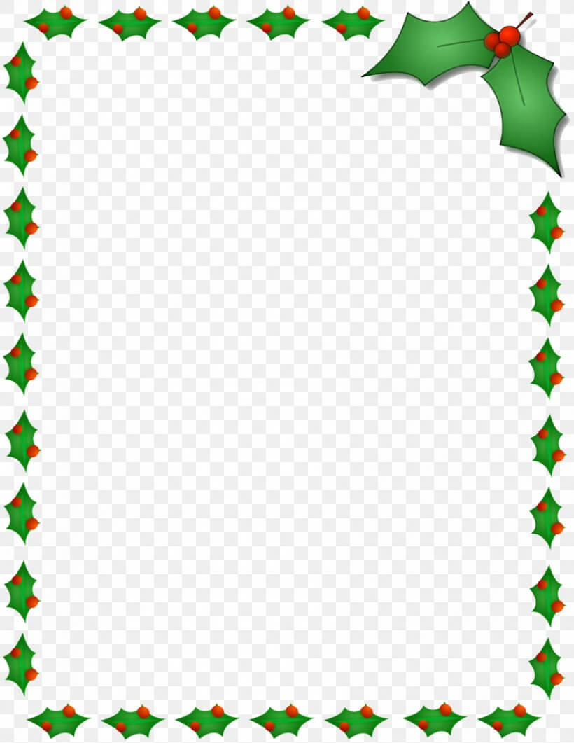Christmas Santa Claus Microsoft Word Template Clip Art, Png Pertaining To Christmas Border Word Template