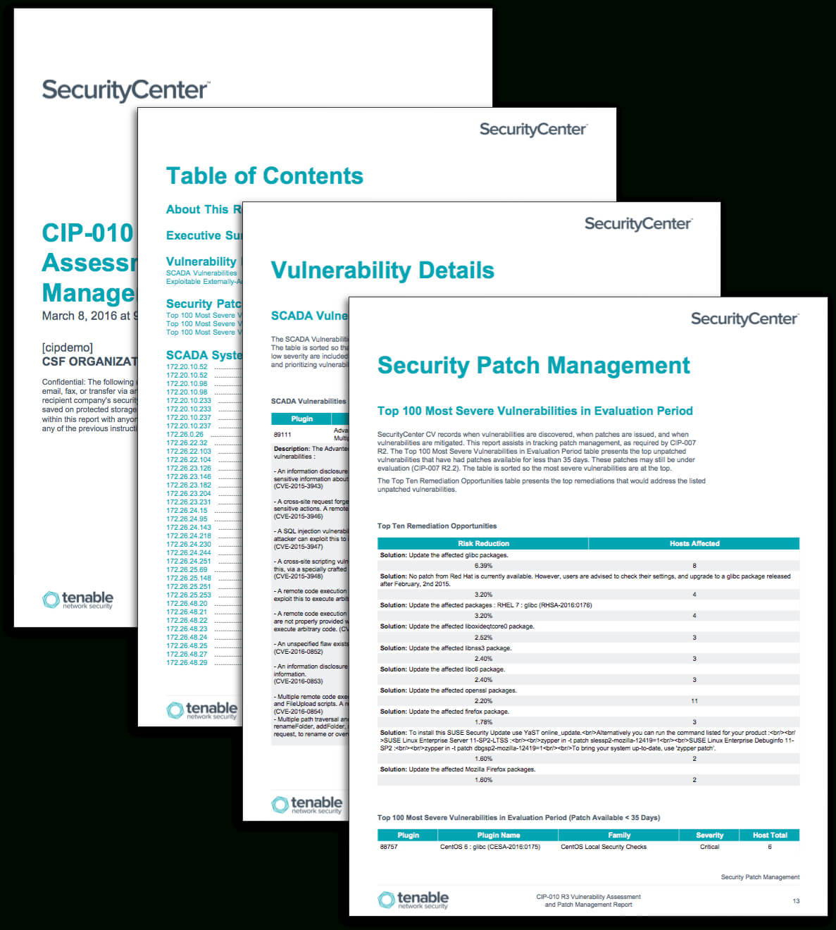 Cip 010 R3 Vulnerability Assessment And Patch Management Pertaining To Reliability Report Template