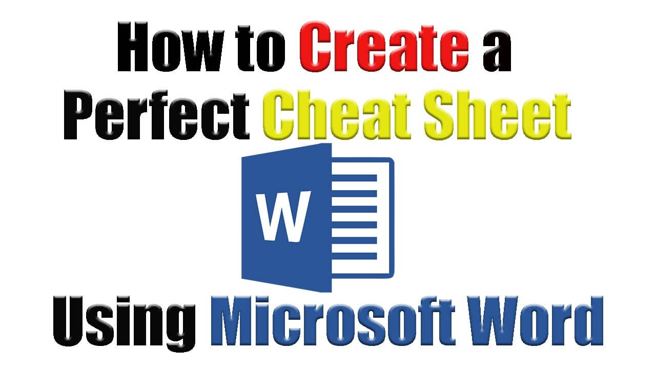 Contribute A Cheatsheet Cheat Sheet Template Blank Word Docx Within Cheat Sheet Template Word