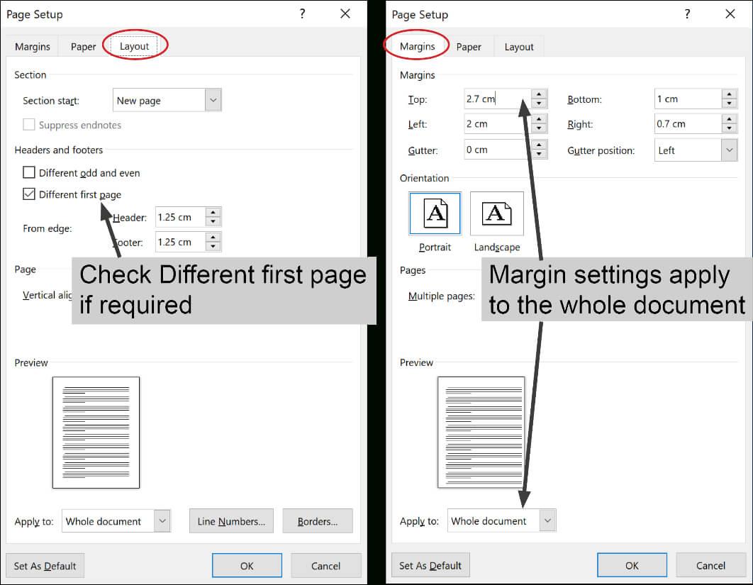 Convert Custom Letterhead To Microsoft Word Templates Regarding Change The Normal Template In Word 2010