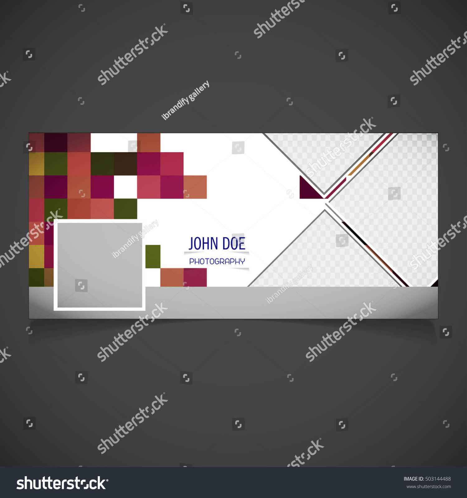 Creative Photography Banner Template Place Image Stock Regarding Photography Banner Template