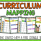 Curriculum Mapping – Grab A Free, Editable Template Now! Throughout Blank Curriculum Map Template