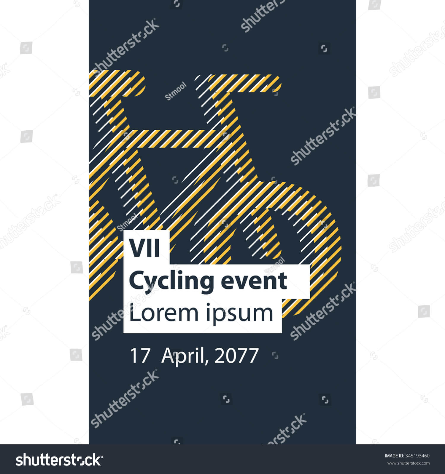 Cycling Event Banner Template Stock Vector (Royalty Free In Event Banner Template