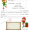 Dear Santa Fill In Letter Template – Pertaining To Blank Letter From Santa Template
