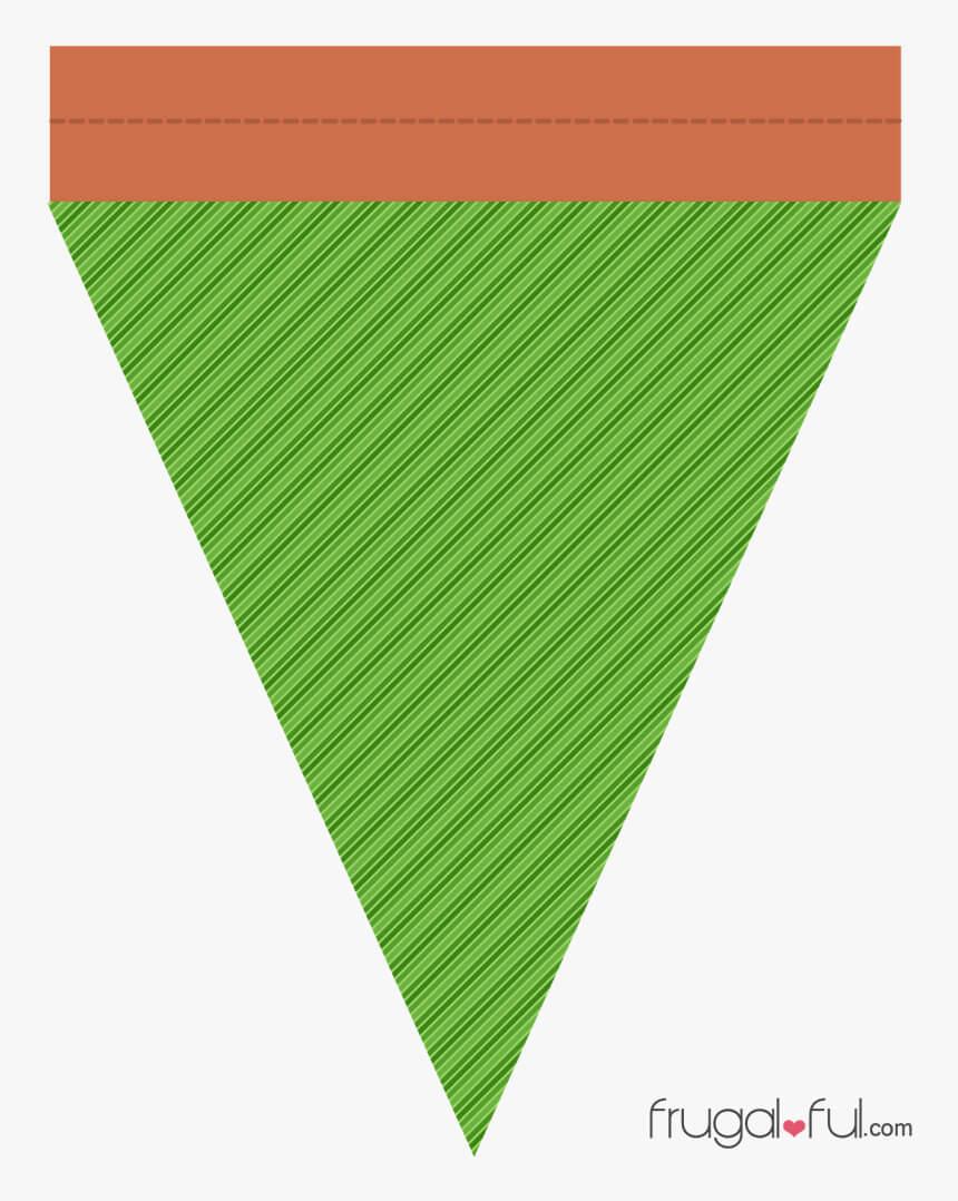 Diy} Free Printable Halloween Triangle Banner Template In Triangle Banner Template Free