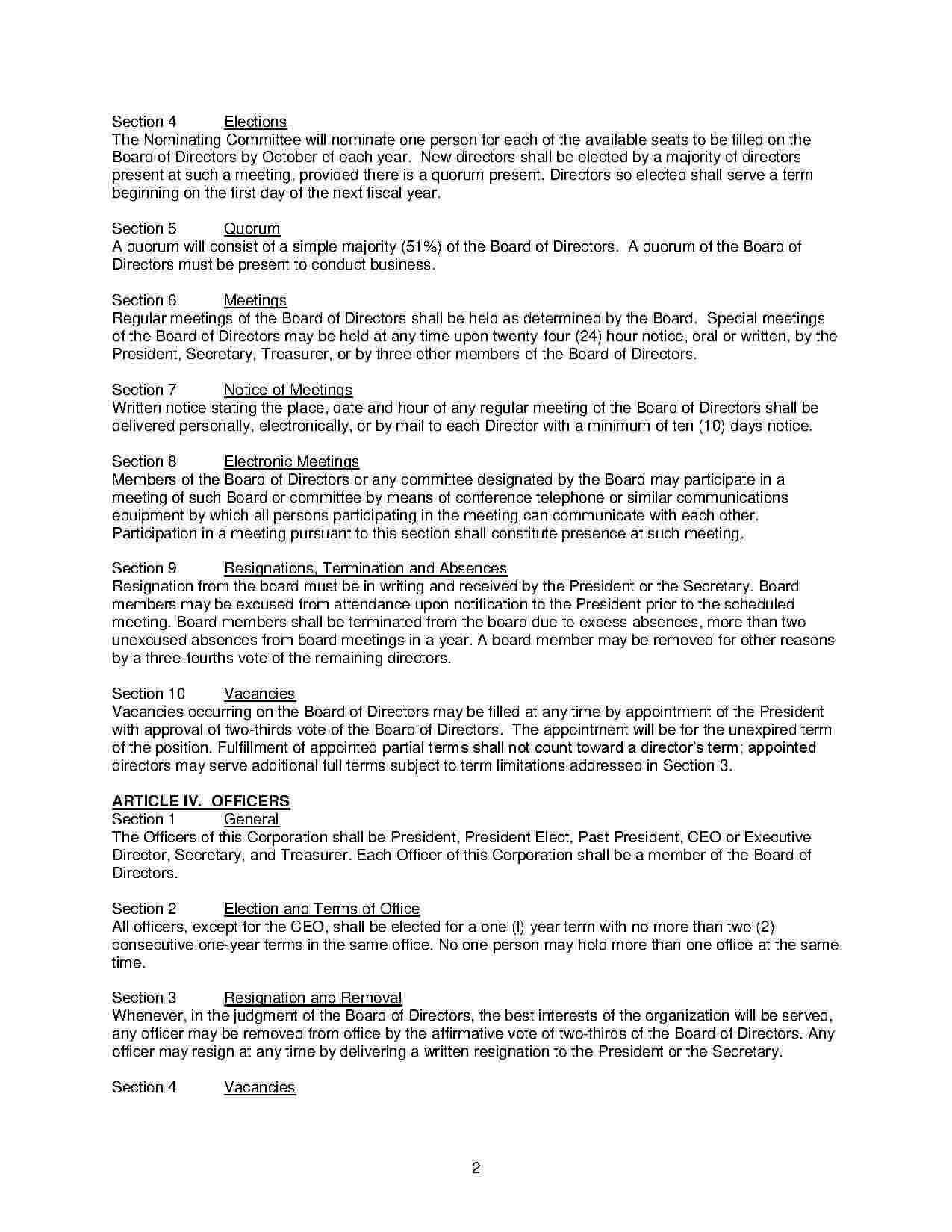 Download Corporate Bylaws Style 8 Template For Free At In Corporate Bylaws Template Word