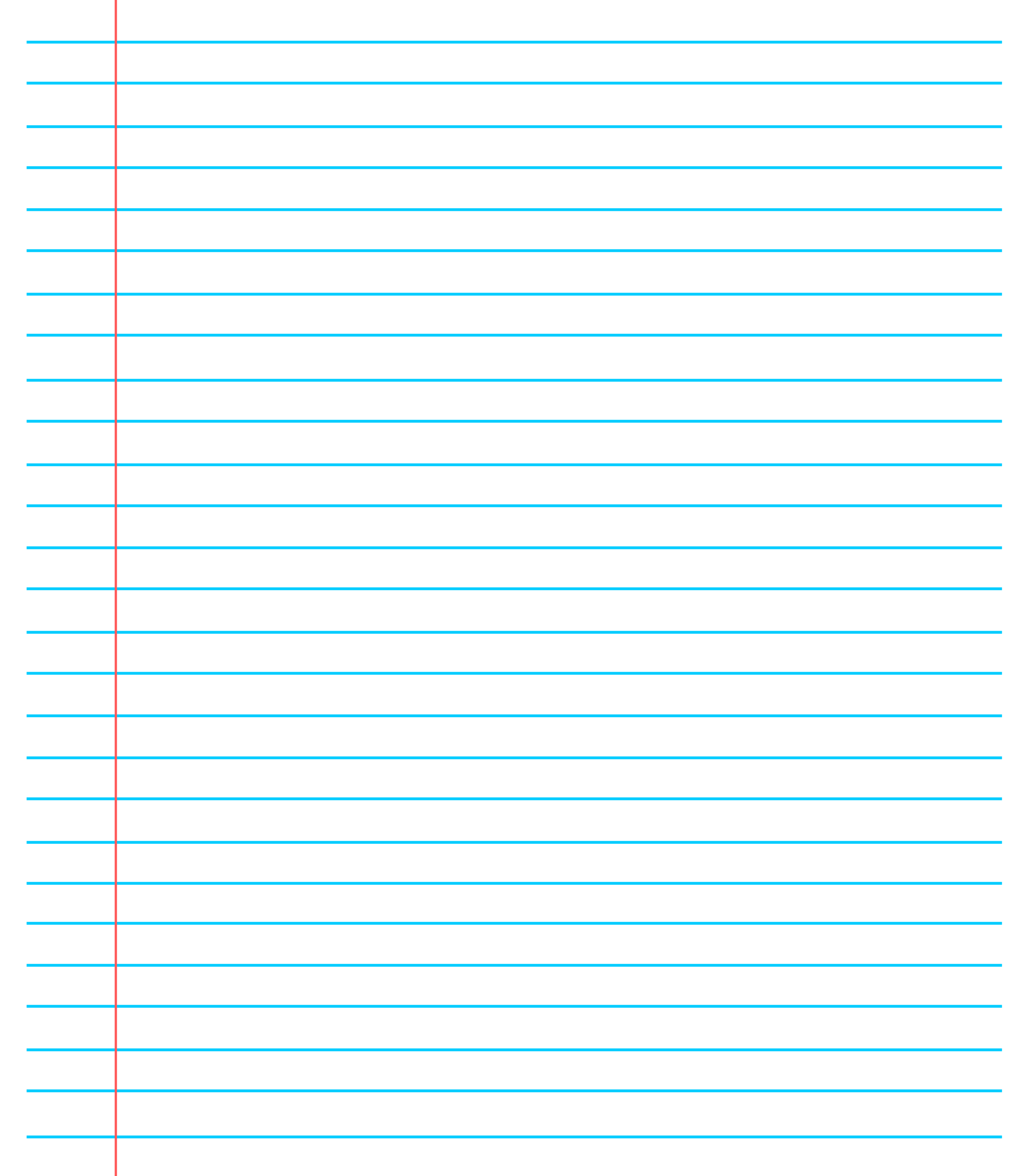 ❤️20+ Free Printable Blank Lined Paper Template In Pdf❤️ Throughout Ruled Paper Word Template