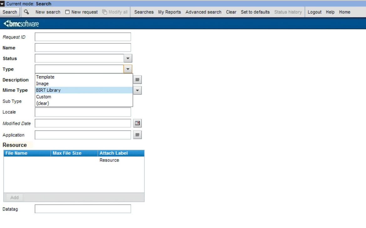 Enabling Birt To Access Your Ar System Datasetting Birt Within Birt Report Templates