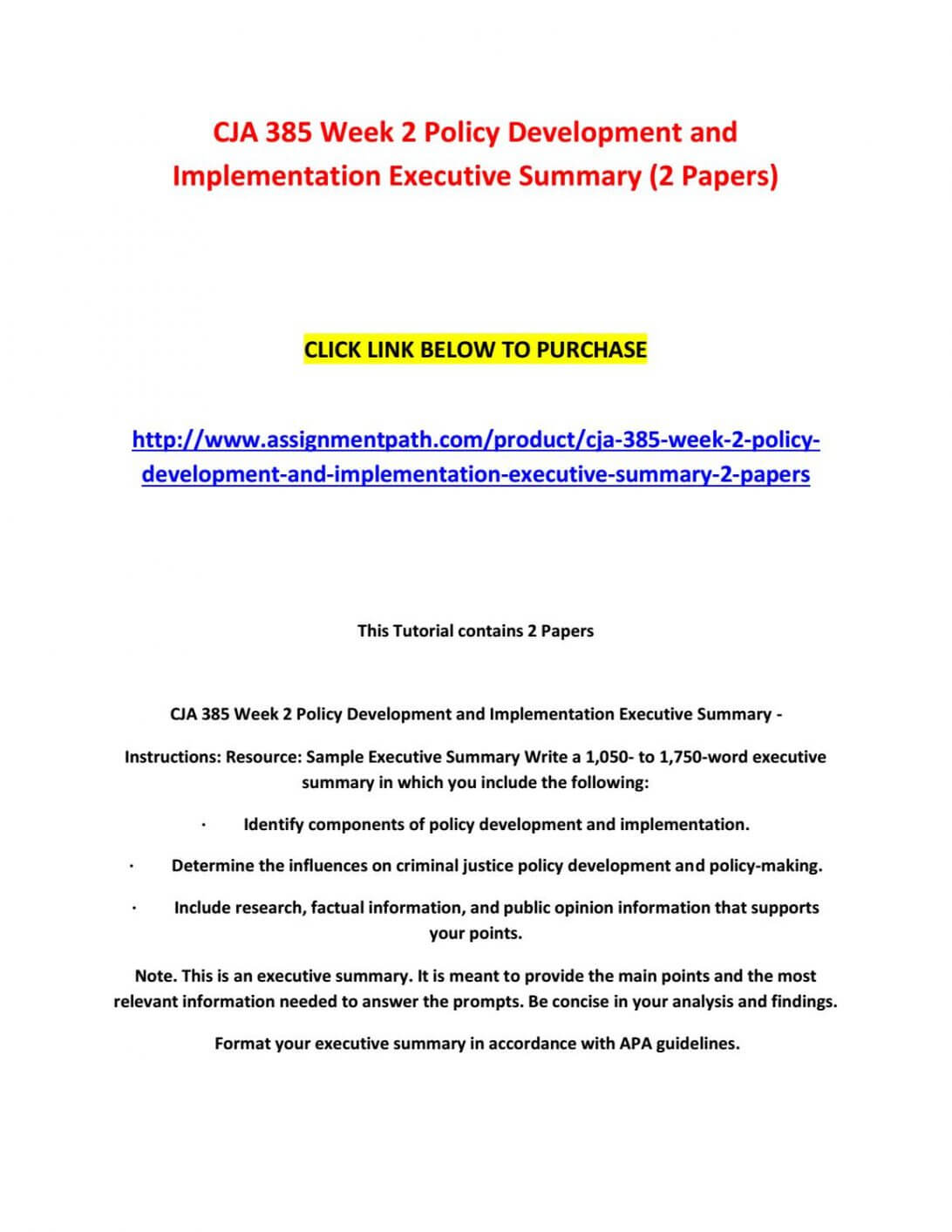 Executive Summary Format Template For Project Report Example Inside Executive Summary Report Template