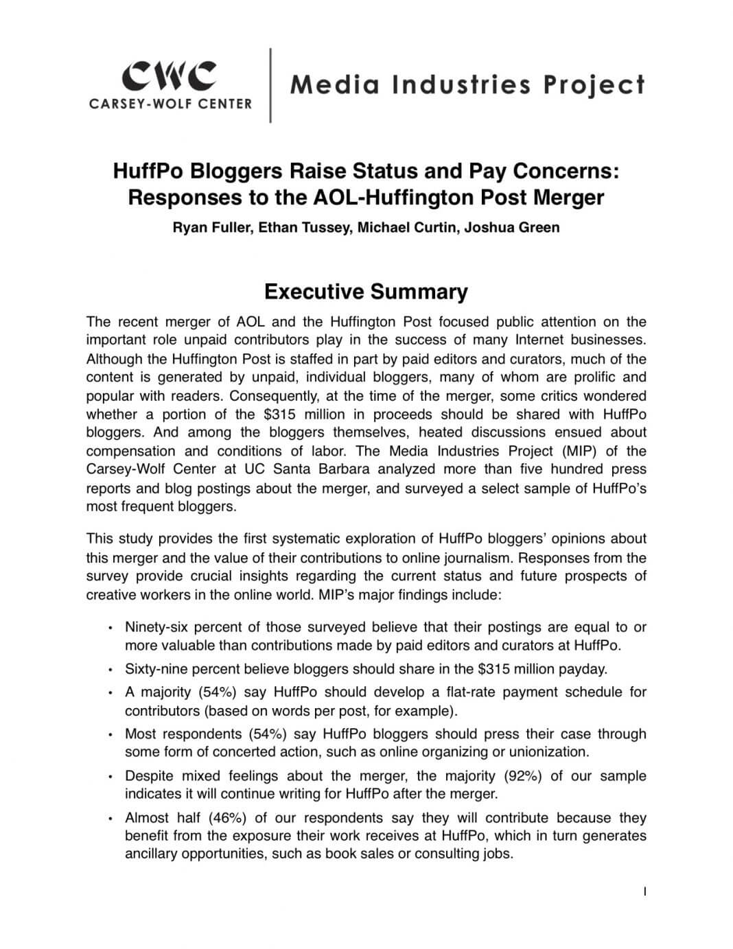 Executive Summary Report Template Examples 174686 Best Inside Executive Summary Report Template