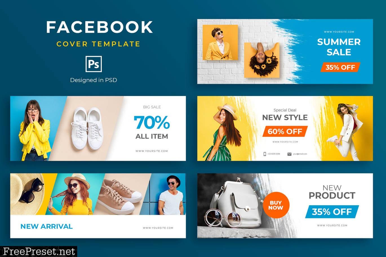 Fashion Facebook Cover Template Zcda63G – Jpg, Psd Pertaining To Facebook Banner Template Psd