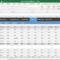 Fleet Management Spreadsheet Excel within Fleet Report Template