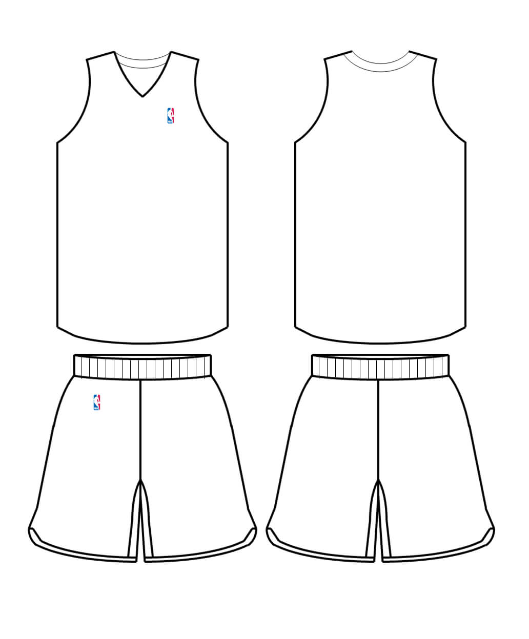 Free Blank Basketball Jersey, Download Free Clip Art, Free With Regard To Blank Basketball Uniform Template