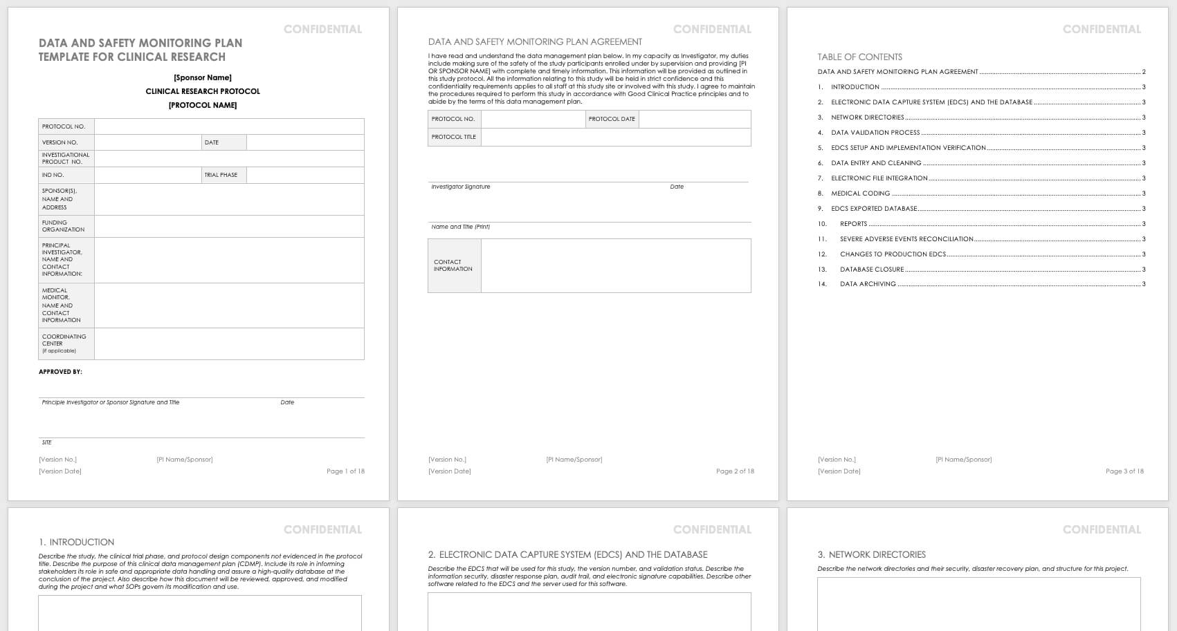 Free Clinical Trial Templates | Smartsheet Regarding Monitoring Report Template Clinical Trials