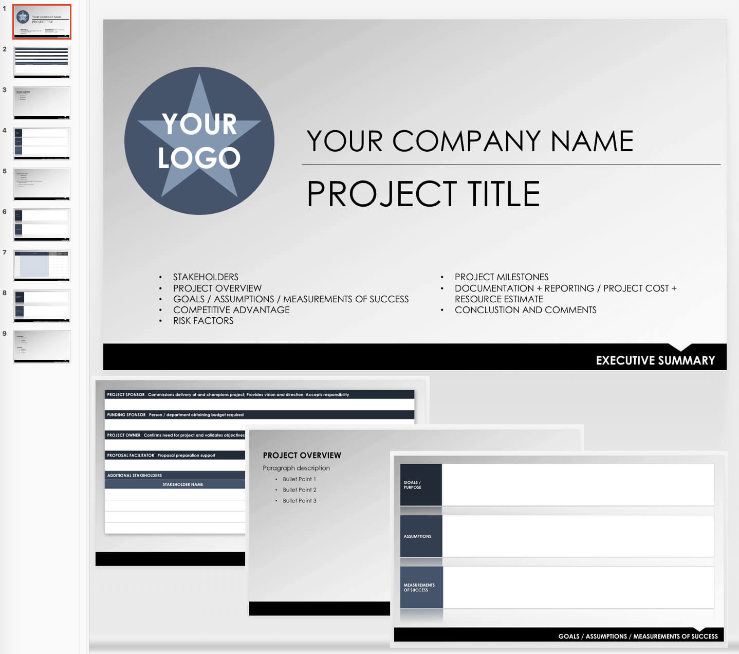 Free Executive Summary Templates | Smartsheet Intended For Report To Senior Management Template