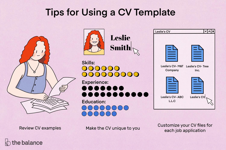 Free Microsoft Curriculum Vitae (Cv) Templates For Word Regarding How To Make A Cv Template On Microsoft Word