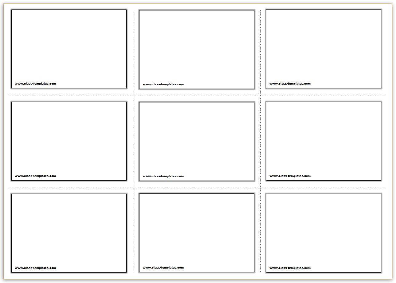 Free Printable Flash Cards Template For Free Printable Blank Flash Cards Template
