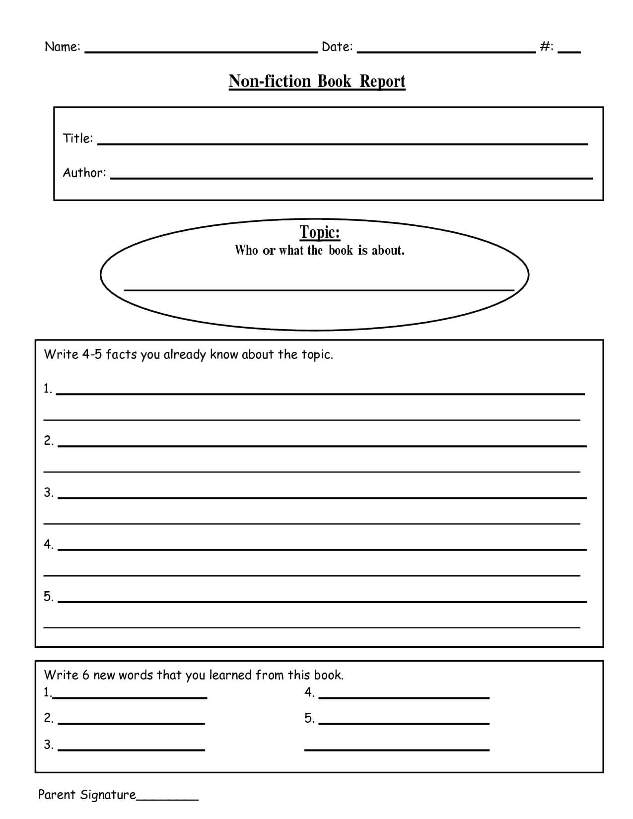 Free Research Paper Grader 1St Grade Writing | Ceolpub Pertaining To 1St Grade Book Report Template