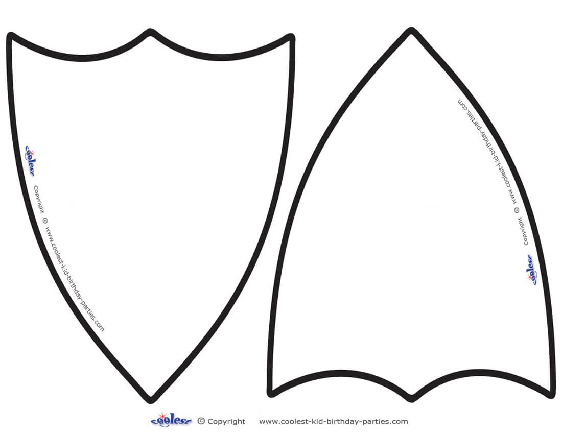 Free Shield Template, Download Free Clip Art, Free Clip Art Within Blank Shield Template Printable